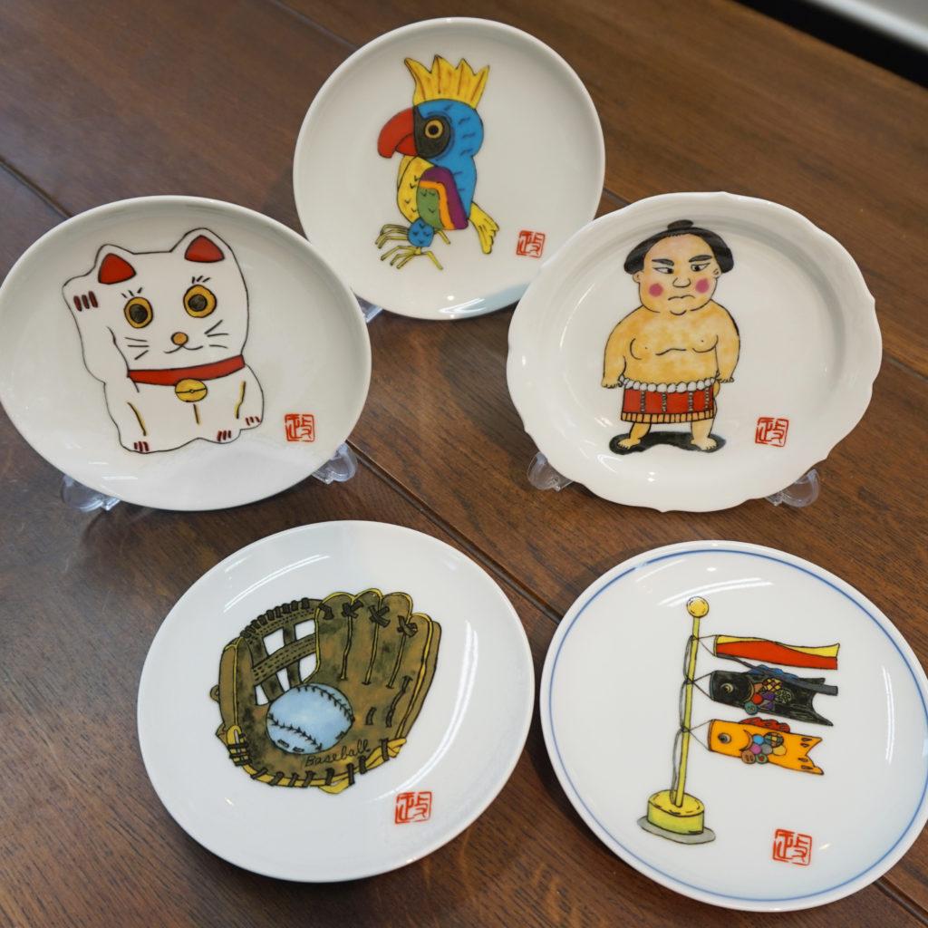 有田焼の絵皿
