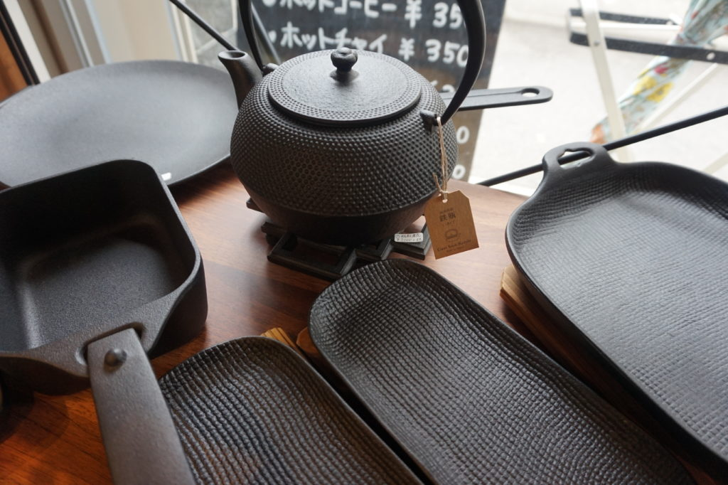 南部鉄器の調理器具